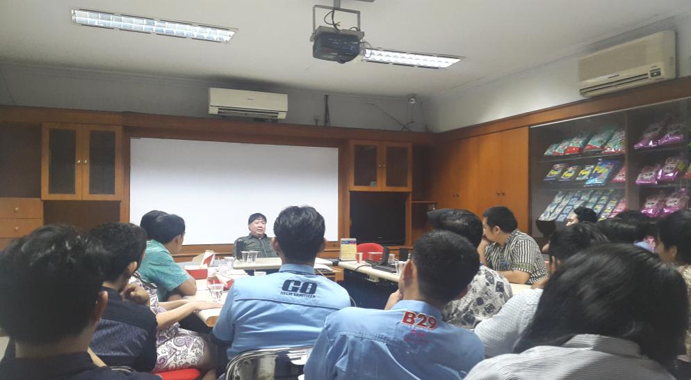 Bincang - bincang dengan CEO di Plant Tangerang
