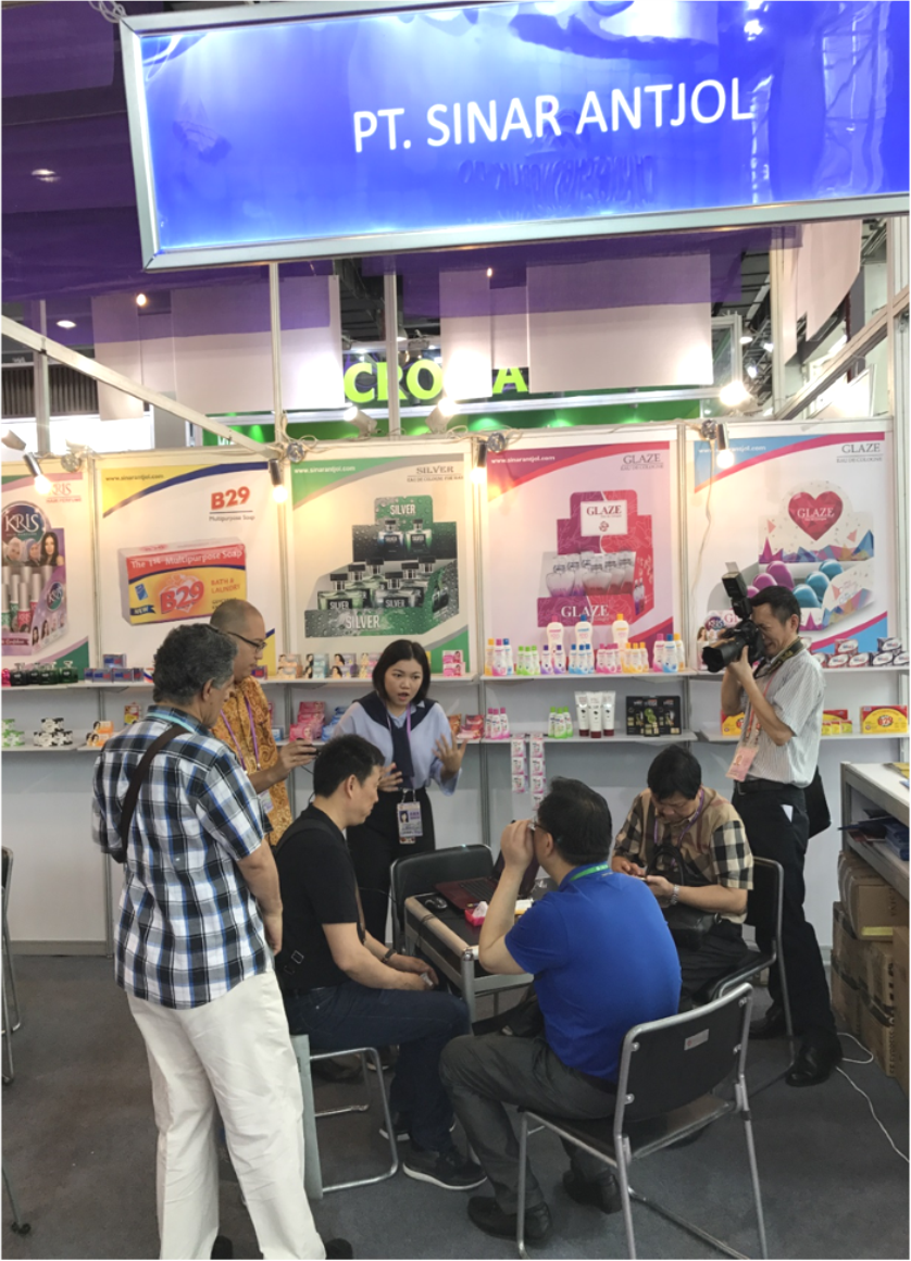 Team Export di Pameran Canton Fair