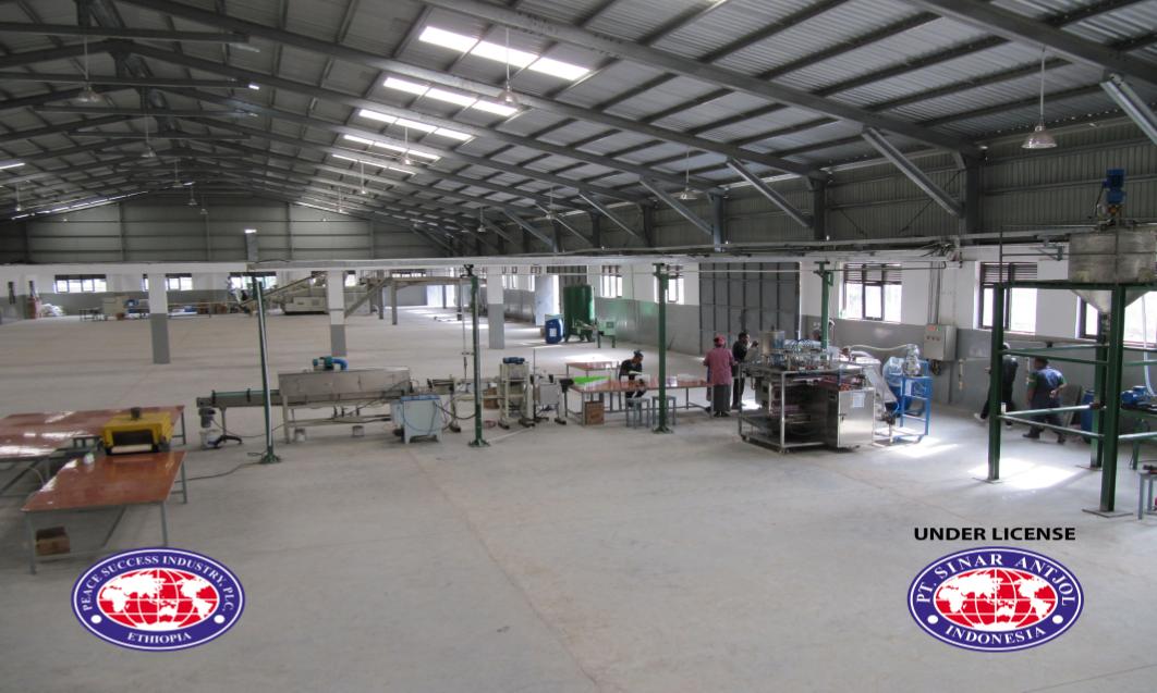 Mesin Produksi di Ethiophia
